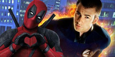 Deadpool 2: Cena pós-crédito traria Tocha Humana de Chris Evans