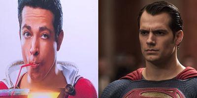 Shazam!: Diretor publica paródia de Batman Vs Superman com o herói no lugar do Homem de Aço