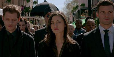 The Originals: Fotos do próximo episódio trazem o funeral de um dos protagonistas