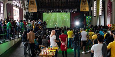 CineOP 2018: Primeiro jogo do Brasil na Copa do Mundo empolga cinéfilos de Ouro Preto