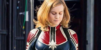 Brie Larson comemora o fim das filmagens de Capitã Marvel