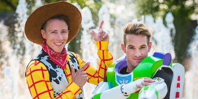 Já imaginou um casamento temático de Toy Story?