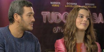 Tudo Acaba em Festa: Marcos Veras e Giovanna Lancellotti alertam sobre os perigos da festa da firma (Entrevista Exclusiva)