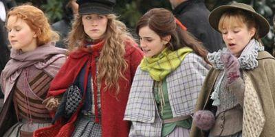 Adoráveis Mulheres: Foto reúne Emma Watson, Saoirse Ronan e Timothée Chalamet nas filmagens da adaptação de Greta Gerwig
