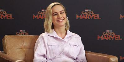 Capitã Marvel: Heroína faz Brie Larson pensar em virar atleta olímpica (Entrevista Exclusiva)