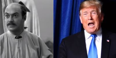 """Previsão? Série dos anos 50 mostra """"Trump"""" tentando construir muro"""