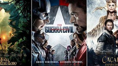 Estreias de abril nos cinemas nova aventura da Marvel, conto de fadas repaginado e muito mais!