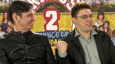 Carrossel 2 - O Sumiço de Maria Joaquina: Nossa entrevista com os vilões Paulo Miklos e Oscar Filho