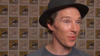 Benedict Cumberbatch explica por que foi falar com os fãs que estavam na fila da Comic-Con