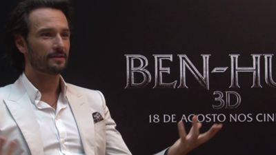 """Ben-Hur: """"Cada vez mais me sinto preenchido artisticamente, o que não acontecia no começo"""", diz Rodrigo Santoro sobre Hollywood (Exclusivo)"""