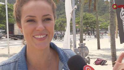 Paolla Oliveira filma comédia romântica luso-brasileira em praia do Rio (Exclusivo)