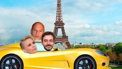 'Baywatch ou Velozes?', provoca Vin Diesel, enquanto Charlize Theron 'trolla' o AdoroCinema (Entrevista Exclusiva)