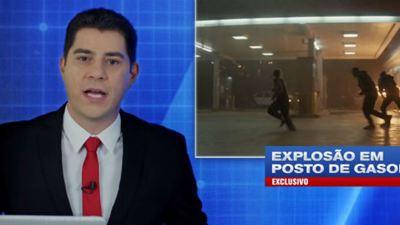 Bright: Evaristo Costa faz plantão de notícias para divulgar novo filme de Will Smith
