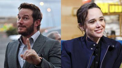 """Chris Pratt rebate comentários de Ellen Page: """"Nenhuma igreja me define"""""""
