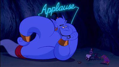 Aladdin: Arte imagina Robin Williams como o Gênio no live-action