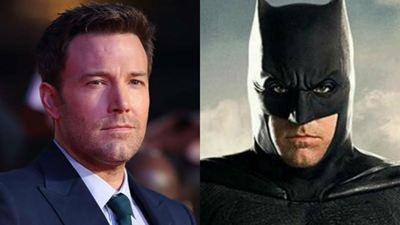 Ben Affleck confirma que não vai mais ser o Batman e se despede do herói