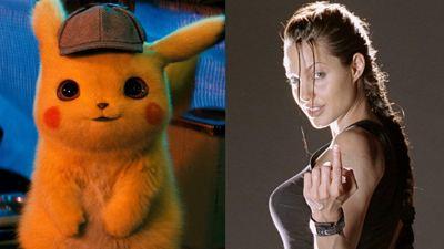 Detetive Pikachu bate Lara Croft: Tomb Raider como a maior bilheteria de uma adaptação de videogame