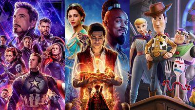 Disney faturou quase metade da bilheteria mundial em 2019