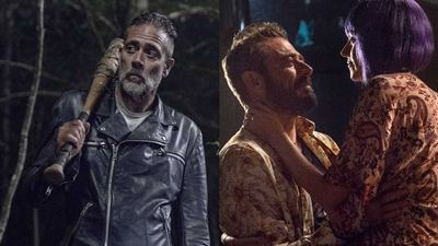 The Walking Dead: Fotos da 10ª temporada tem Jeffrey Dean Morgan e esposa Hillary Burton