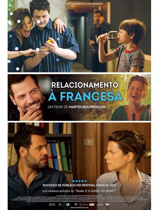 Relacionamento à Francesa - filme 2015