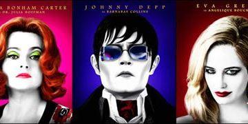 Confira vários novos cartazes de Sombras da Noite, de Tim Burton