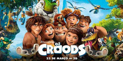 Os Croods: Concorra a um par de ingressos para a pré-estreia no Rio de Janeiro!