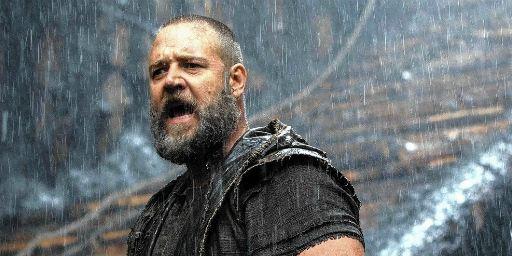 Confirmado: Russell Crowe vem ao Brasil para o lançamento de Noé!