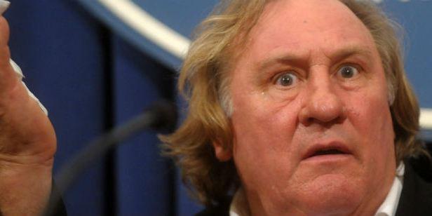 Gérard Depardieu e seus filmes são proibidos na Ucrânia