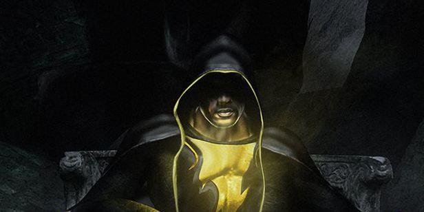 Dwayne Johnson compartilha arte com Adão Negro e Super-Homem