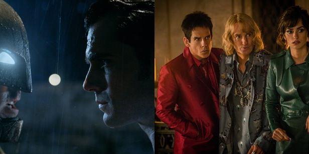 Framboesa de Ouro: Batman Vs Superman e Zoolander 2 são os mais indicados