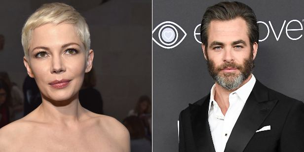 Chris Pine e Michelle Williams negociam para coestrelar o suspense All the Old Knives