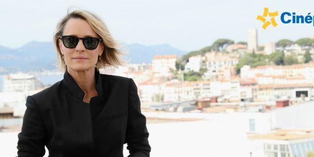 """Festival de Cannes 2017: """"Trump roubou todas as ideias de House of Cards"""", diz Robin Wright"""