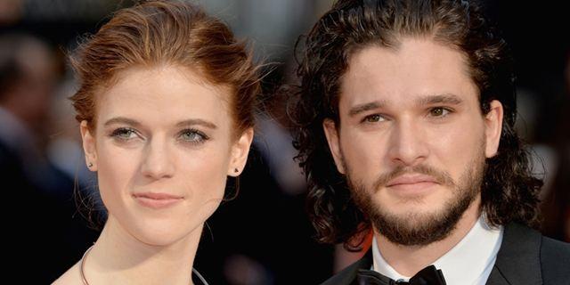Rose Leslie obrigou Kit Harington a se vestir de Jon Snow para uma festa a fantasia