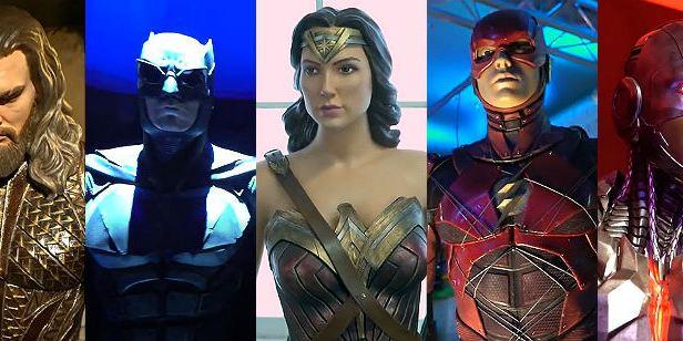 Liga da Justiça: Warner constrói cenários reais dedicados aos super-heróis em exposição