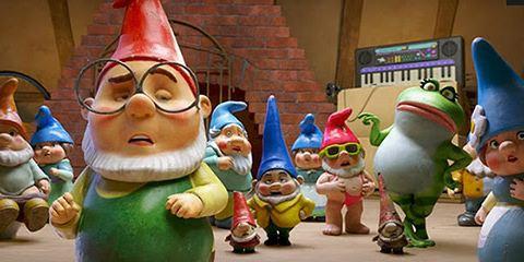 Sherlock Gnomes e O Mistério do Jardim ganha trailer legendado e cartazes apresentando os personagens principais!