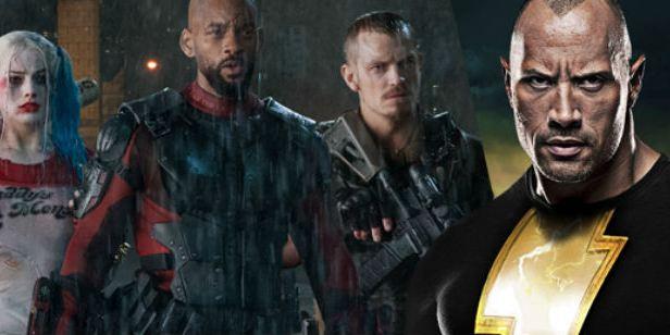 Rumor: Adão Negro de Dwayne Johnson pode aparecer em Esquadrão Suicida 2