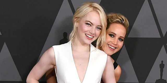Jennifer Lawrence revela que perdeu papel em A Mentira e é zoada por Emma Stone