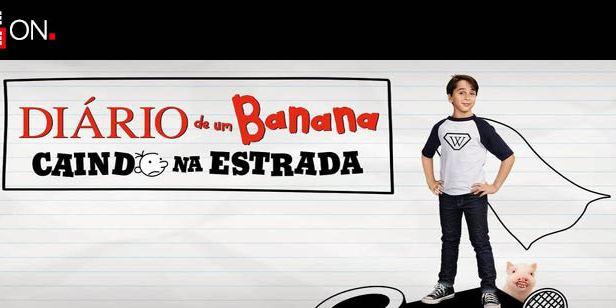 Diário de Um Banana: Caindo na Estrada chega ao Telecine On Demand
