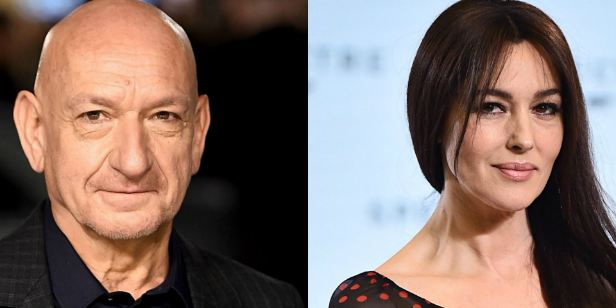 Ben Kingsley e Monica Bellucci vão protagonizar suspense de espionagem