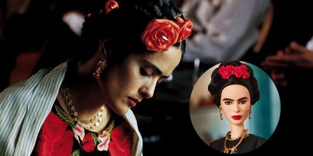 Salma Hayek reprova Barbie da Frida Kahlo sem sobrancelhas juntas