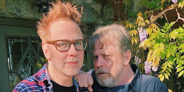 James Gunn e Mark Hamill se encontraram para (possivelmente) falar de Guardiões da Galáxia Vol. 3