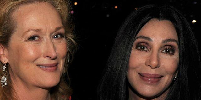 Cher afirma que ela e Meryl Streep salvaram mulher de ser assediada