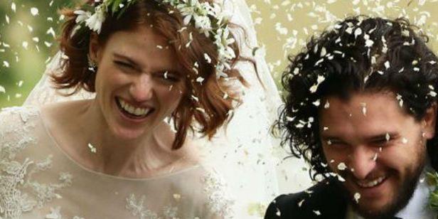 Astros de Game of Thrones, Kit Harington e Rose Leslie se casam!