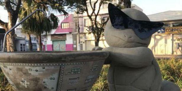 Estátuas de Pokémons continuam aparecendo misteriosamente em São Paulo