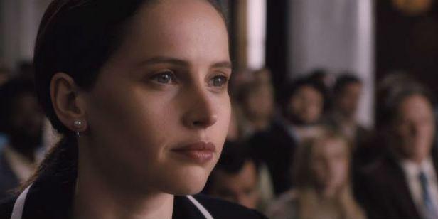 Felicity Jones luta contra a discriminação de gênero no trailer de On the Basis of Sex