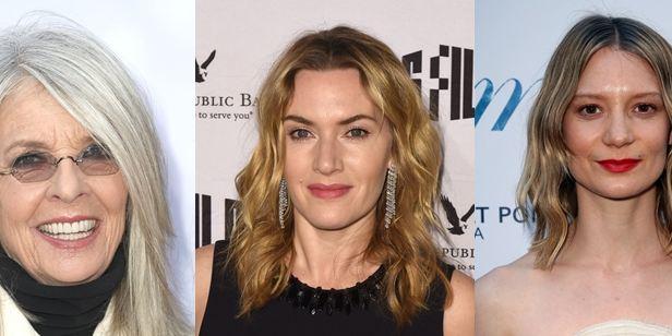Diane Keaton será mãe de Kate Winslet e Mia Wasikowska em drama familiar