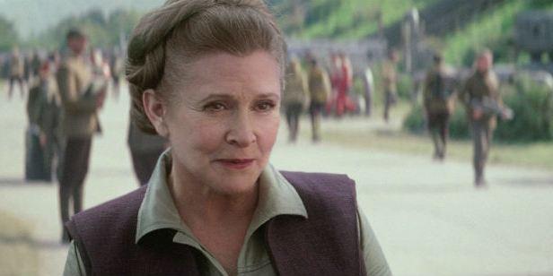 Star Wars: Cenas deletadas de Carrie Fisher em O Despertar da Força serão usadas no Episódio IX