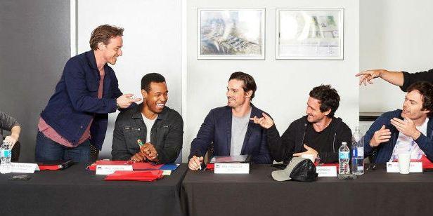 Jessica Chastain, James McAvoy e os adultos do Clube dos Perdedores se reúnem em flagra das gravações de IT: A Coisa - Capítulo 2