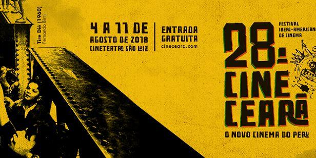 Começa em Fortaleza o 28º Cine Ceará!