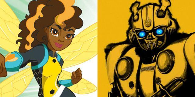 Bumblebee vira alvo de disputa judicial entre a DC e a Hasbro